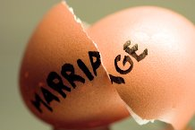 marriage egg shell
